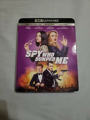 The Spy Who Dumped Me (4k bluray, bluray, no digital)