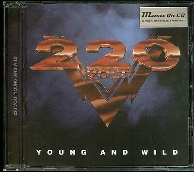 220 Volt Young And Wild CD new reissue 2018
