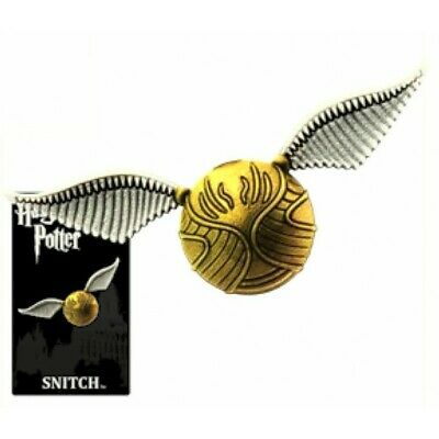 Harry Potter Quidditch Golden Snitch Image Pewter Metal Lapel Pin NEW UNUSED