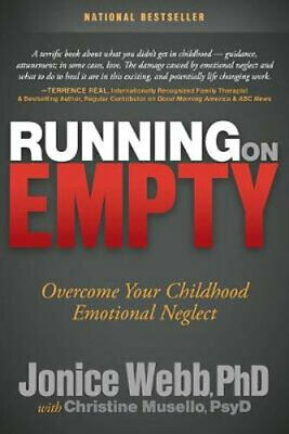 NEW Running on Empty By Jonice Webb Paperback Free Shipping
