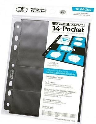 Ultra Pro Card Binder 14-Pocket Compact Pages Standard + Mini American -  MINT