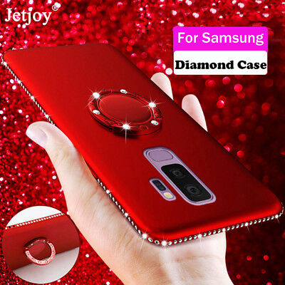 Bling Glitter Stand Phone Case Cover For Samsung Galaxy Note 9 S9 A6 A7 A8 2018