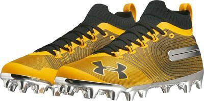 0bbbf3ac236c UNDER ARMOUR (UA) Spotlight MC Cleats Black/Gold 3021731-700 - Men's ...