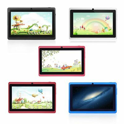 7'' inch Quad Core HD Tablet PC for Kids Android 4.4 8G Dual Camera WiFi LU