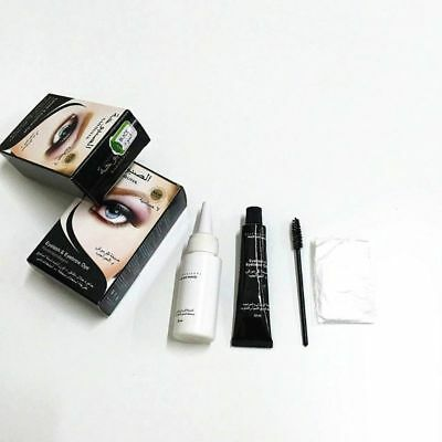 Universal Eyelashes Eyebrow Beard Hair Dye Paste Tint Kit Permanent Mascara