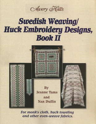 Swedish Weaving Huck Embroidery Designs Book 2 - Jeanne Tams and Nan Duffin