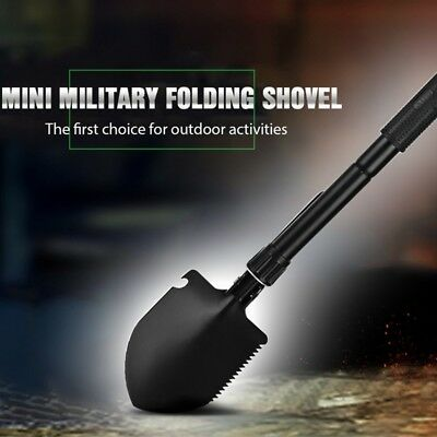 Outdoor Military Folding Shovel Survival Spade Emergency Garden Camping Tool