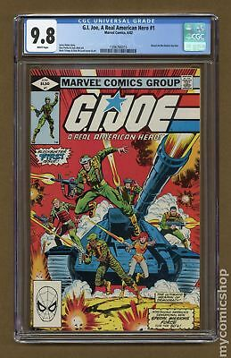 GI Joe (Marvel) #1 1982 CGC 9.8 1396766015
