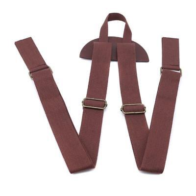 Double Shoulder Strap PU Leather Backpack Luggage Suitcase Strap Belt Band LC