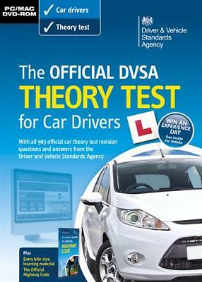 Official DVSA Theory Test for Car Drivers DVD ROM NEW SEALED DRIVING TEST