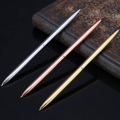 Metal Ballpoint Pen Slim Ball Pen For Business Writing Office School Supplies