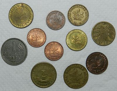 Germany :  Lot Of 11 Old Coins