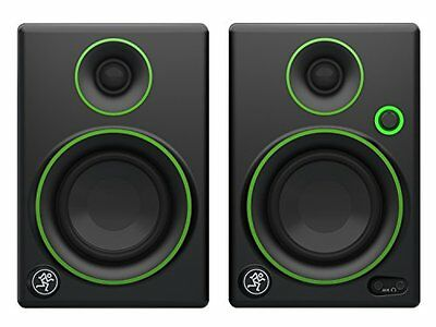 Mackie CR3 PAIR 3inch Reference Multimedia Monitors Speakers Free Shipping