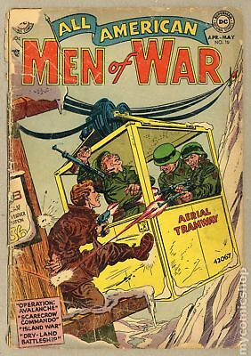 All American Men of War #10 1954 FR 1.0