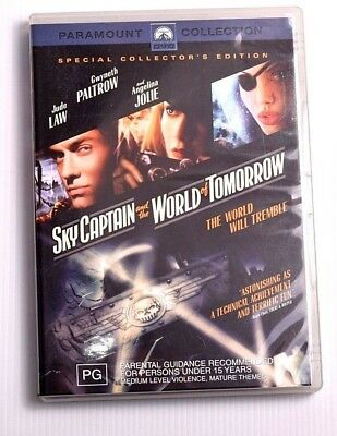 Skycaptain And The World Of Tomorrow Region 4 PAL DVD Movie Free AU Post