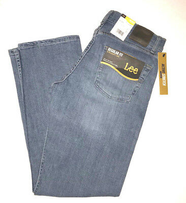 LEE Jeans Regular Classic Fit Active Stretch Level 2 Monroe Blue 2008911 NWT NEW