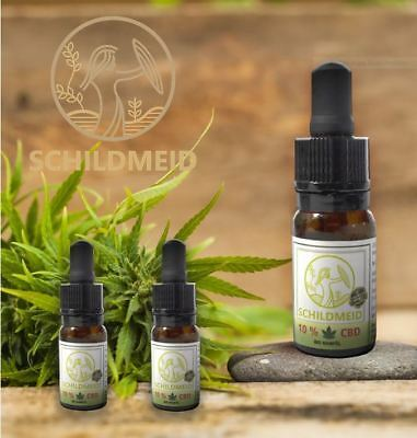 Schildmeid® Hanföl CBD10% (1000mg) 10ml Vollspektrum CO2 Extraktion⭐⭐⭐