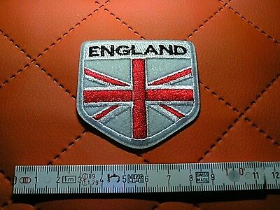ENGLAND Aufnäher Patch Angleterre Correctifs Parches Англия Патчи 9 x 5 cm IRON