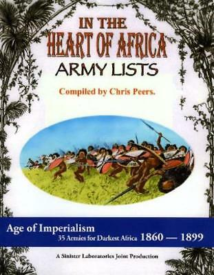 Sinister L Historical Mini In the Heart of Africa - Army Lists (2nd Pri SC MINT