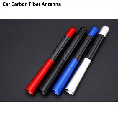 Screw Aluminum Universal Carbon Fiber Short Stubby Auto Roof  Car Antenna