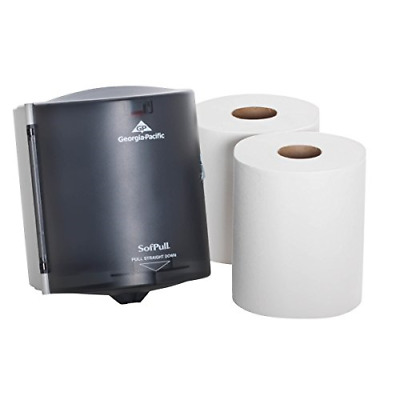 SofPull Centerpull Regular Capacity Paper Towel Dispenser Trial Kit by GP PRO, 1