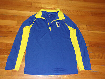 91cafbd456530 Colosseum University Of Delaware 1 2 Zip Long Sleeve Pullover Womens Medium  Exc.