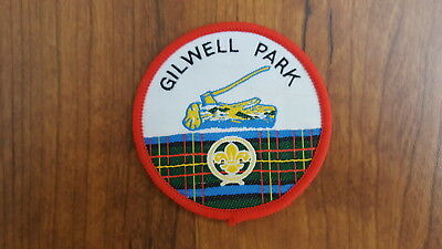 Late 1990's Gilwell Park Patch, UK Scout Association