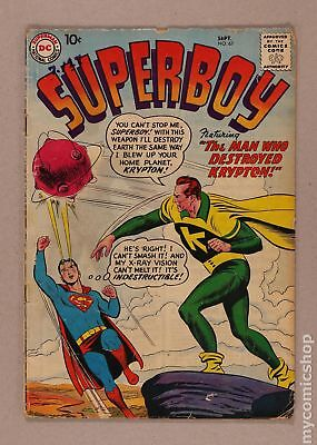 Superboy (1st Series DC) #67 1958 GD+ 2.5