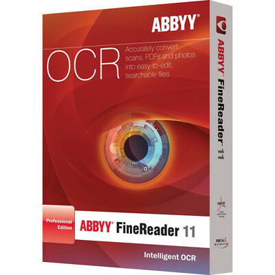 Abbyy FineReader 11 Portable PDF converter/SCAN TO DOC./professional edition