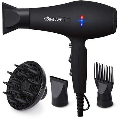 Hair Dryer Professional 2100W Salon Hairdryer Ionic Far Infrared 2 Speed 3 Heat
