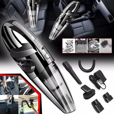 Portable Handheld Rechargeable Wet Dry Cordless Vacuum Cleaner Car Home Clean