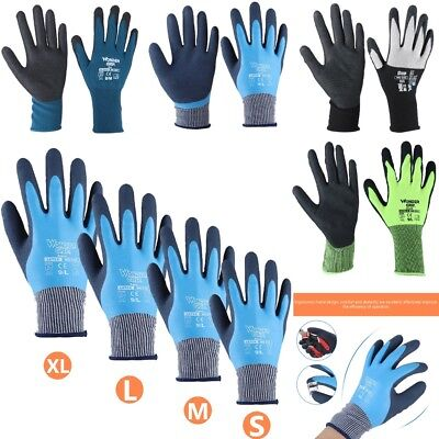 Anti-skid Breathable Nitrile Coated Working Gloves Fashionable Dynamic Gloves