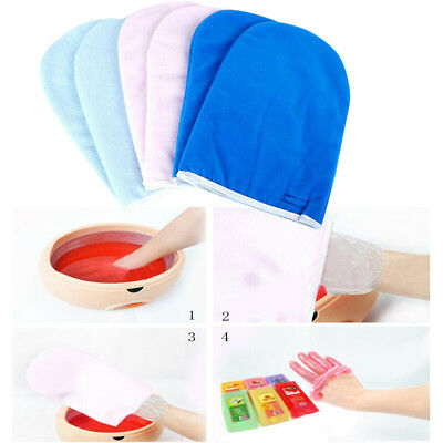 1pairs Professional Paraffin Wax Mittens Hand SPA Treatment Manicure Gloves