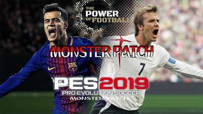 PATCH Pro Evolution Soccer PES 2019 PS4 Option File - INVIO IMMEDIATO-offerta