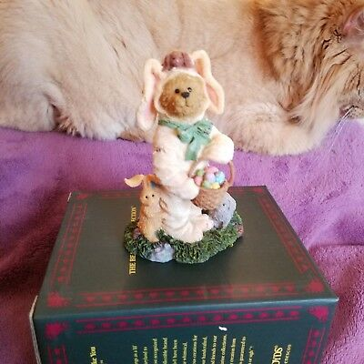 Boyds Bearstone Special Occasion Benny Bearybun  New Retired