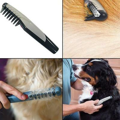 1X Electric Pet Dog Cat Hair Trimmer Grooming Comb Knot Out Remove Scissor Tool