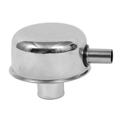 Oil Breather Cap Push In with Tube Chrome 1965-1973 Mustang