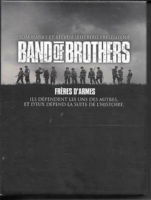 Coffret 6 Dvd Zone 2--Integrale Serie Tv--Band Of Brothers - Freres D' Armes