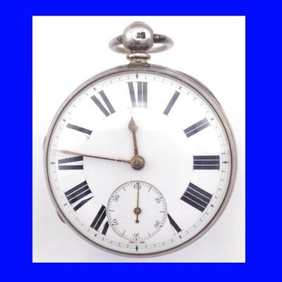 Superb Silver Burton of Eastwood Fusee Lever Massey 3 Pocket Watch 1840