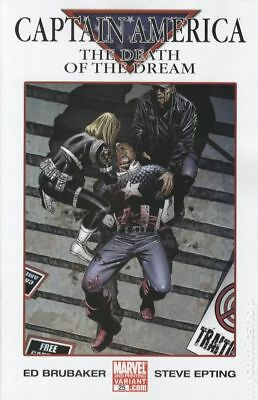 Captain America (5th Series) #25C 2007 Epting Variant 2nd Printing NM