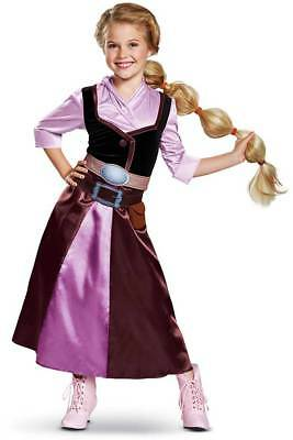 Licensed Tangled Series Rapunzel Season 2 Outfit Classic Costume Child Girls