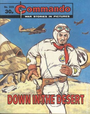 Commando War Stories in Pictures (D. C. Thomson Digest) #2225 1988 VG Low Grade