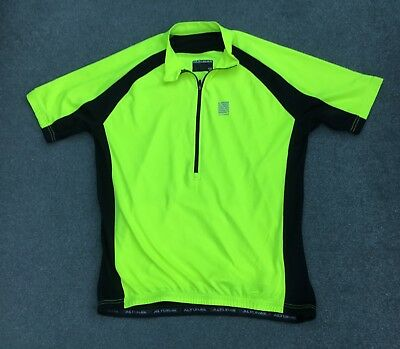 2 X ALTURA airstream yellow short sleeve cycling jerseys size L used ... dcf93e3e4