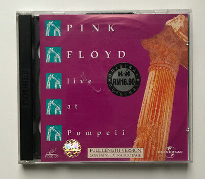 Pink Floyd - Live at Pompeii / Video CD Edition