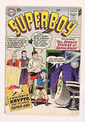 Superboy (1st Series DC) #71 1959 FR/GD 1.5