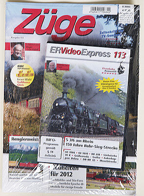 Züge Ausgabe 113 + DVD ER Video Express 113
