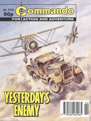 Commando for Action and Adventure (U.K.) #3132 1998 VG Stock Image Low Grade