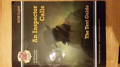 GCSE English Text Guide - An Inspector Calls by CGP Books (USED)