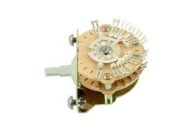 NEW - Oak Grigsby 4-Pole, Double Wafer, 5-way Super Switch For Guitar