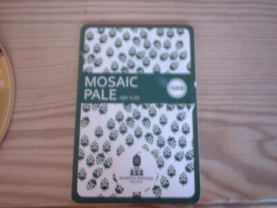 Beer pump clip badge / Advert , North Riding  Brewery, Mosaic Pale